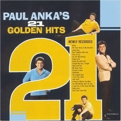 Paul Anka 21 Golden Hits Rar